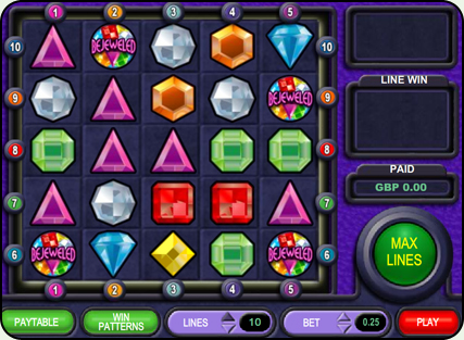 Instant Win Bejeweled