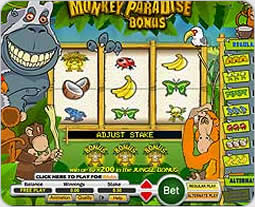 Monkey Paradise Slot Machine - Play Penny Slots Online