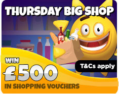 Thursday Big Shop!