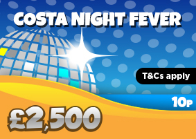 Costa Night Fever Jackpot