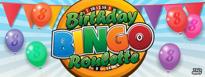 Birthday Bingo Roulette