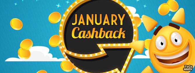 January Cashback