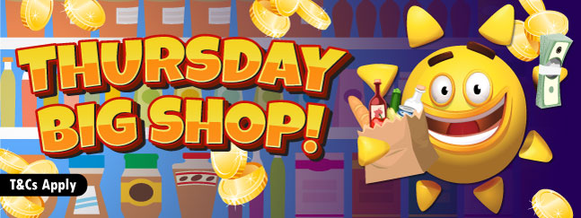 Thursday Big Shop